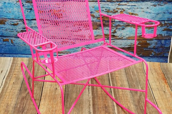 Retro Patio Chair in Fun New Colors
