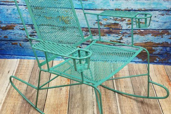 Retro Patio Chair in Fun New Colors
